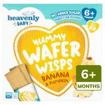 Heavenly Yummy Wafer Wisps Banana & Pumpkin