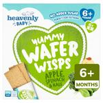 Heavenly Yummy Wafer Wisps Apple, Spinach & Kale