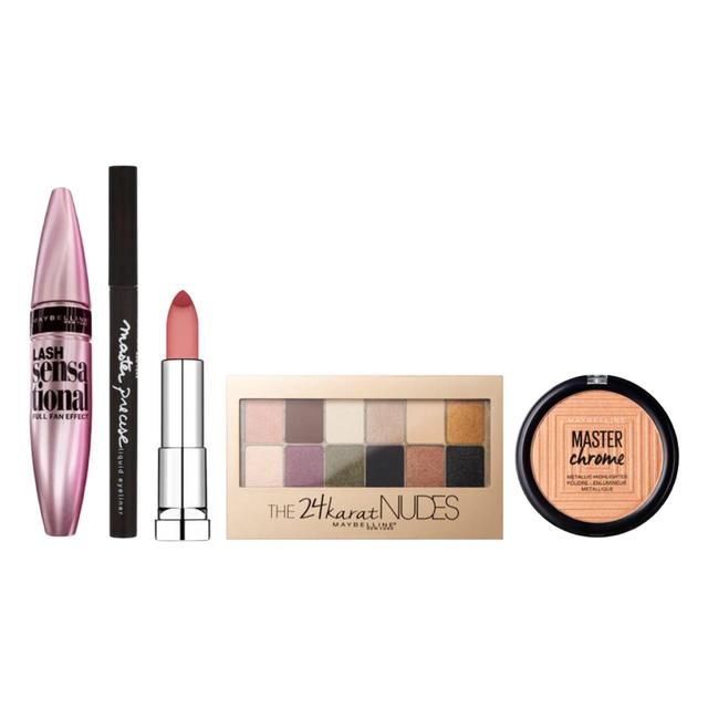 Maybelline Glow All Night Make Up Gift Set