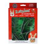 Reindeer 6 Piece Decorating Kit