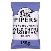 Pipers Atlas Mountains Wild Thyme & Rosemary Crisps