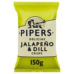 Pipers Delicias Jalapeno & Dill Crisps