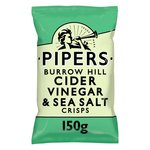 Pipers Burrow Hill Cider Vinegar & Sea Salt Crisps