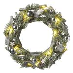 Wood Land Light Up Wreath
