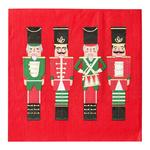 Talking Tables Red Nutcracker Paper Napkins