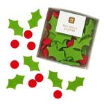 Talking Tables Christmas Felt Holly Scatter