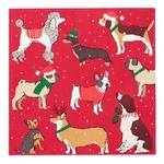Talking Tables Christmas Pooch Paper Napkins