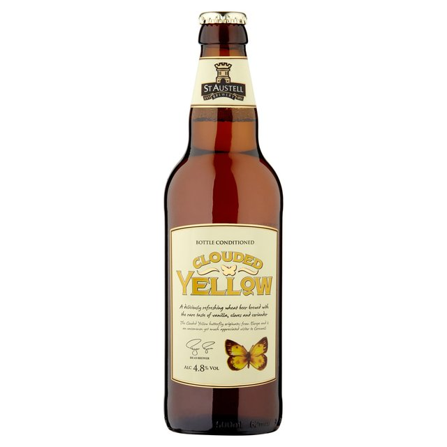 St Austell Clouded Yellow Wheat Beer