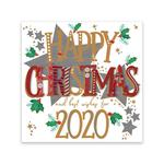 Happy Christmas 2020 Acetate Box Of Cards