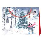 Louise Tiler Merry Christmas Shopper Style Gift Bag