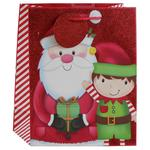 Santa & Elf Medium Gift Bag