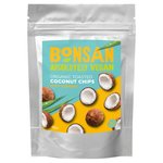 Bonsan Organic Coconut Chips Spicy Turmeric