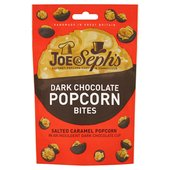 Joe & Seph's Dark Chocolate Popcorn Bites