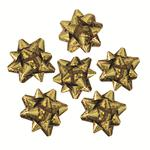 Pack Of 16 Mini Gold Bows