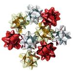 Metallic Bows, Multi-Colour, Pack Of 20