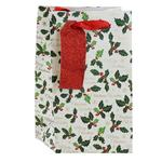 Christmas Holly Perfume Gift Bag
