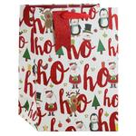 Ho Ho Ho Gift Bag, Large
