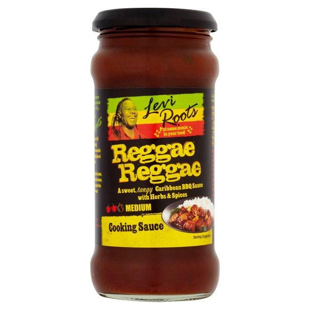 how reggae reggae sauce About levi roots for years levi made the sauce from his kitchen in brixton with the help of his seven children.