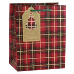 Tartan Gift Bag, Medium