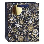 Gift Bag Snowflake Medium