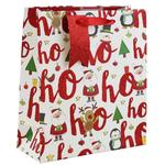Gift Bag Ho Ho Ho Medium