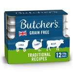 Butcher's Traditional Recipes Dog Food Trays