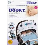 Dooky Blue Stars Universal Sunshade for Buggies, Strollers and Car Seats