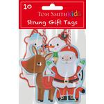 Tom Smith Santa & Friends Gift Tags