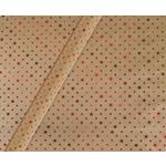 Tom Smith Shiny Red Stars On Kraft Christmas Wrapping Paper