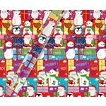 Tom Smith Santa & Friends Gift Wrapping Paper