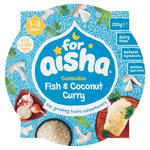 For Aisha Cambodian Fish & Coconut Curry