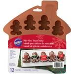 12 Cavity Silicone Gingerbread Molds