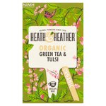 Heath & Heather Organic Green Tea & Tulsi