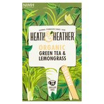 Heath & Heather  Organic Green Tea & Lemon grass