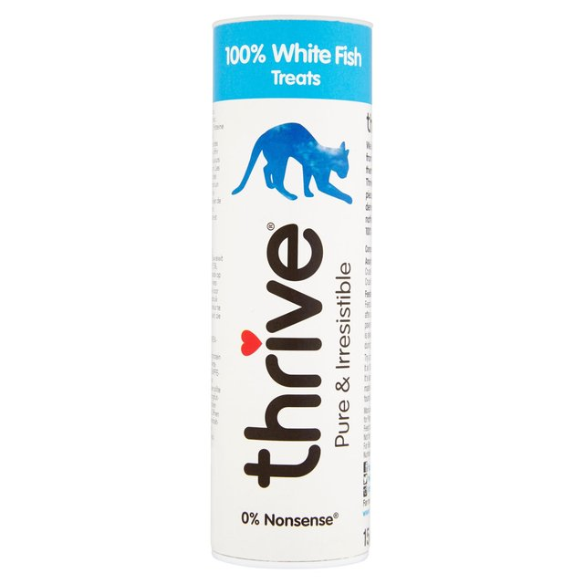 Thrive 100% White Fish Cat Treats