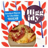 Higgidy Little Quiche Bacon & Cheddar