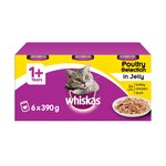 Whiskas Cat Food Tins Poultry Selection in Jelly