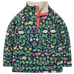Frugi Organic Fleece Lined Sweatshirt Floral/Farm Design