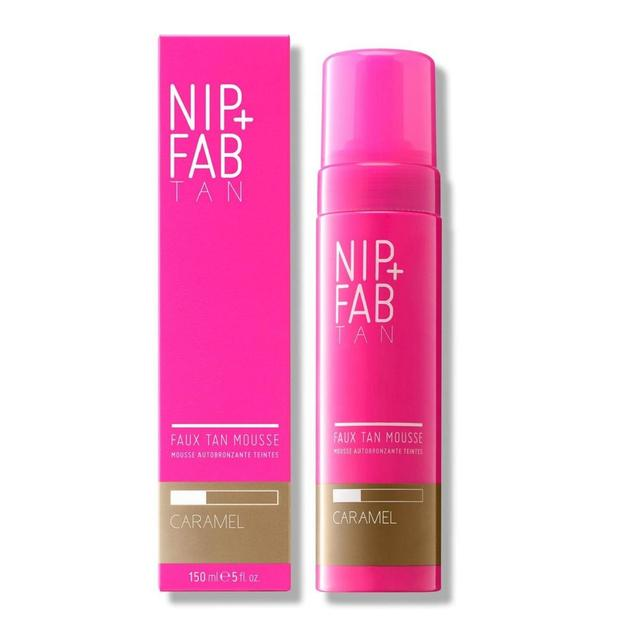 Nip+Fab Fake Tan Mousse Caramel, Vegan