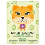 Face Food Kitten Face Sheet Mask