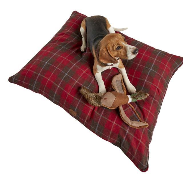Joules Dog Bed Tweed