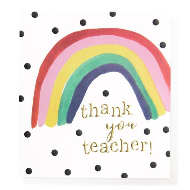 Caroline Gardner Thank You Teacher Card | Ocado