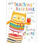 Thank You Owl Teaching Assistant Card