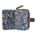 FatFace Oriental Ditzy Canvas Purse, Navy