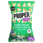 PROPERCHIPS Sour Cream & Chive Lentil tortilla chip