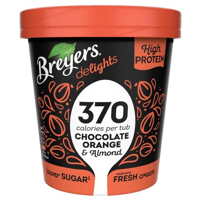 Breyers Chocolate Orange & Almond Ice