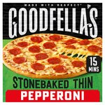 Goodfella's Stonebaked Thin Pepperoni Pizza Frozen
