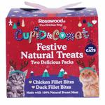Rosewood Cupid & Comet Christmas Natural Cat Treats