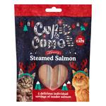 Rosewood Cupid & Comet Christmas Luxury Salmon Tenders Treats For Cats