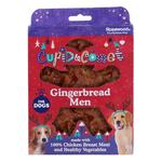 Rosewood Cupid & Comet Christmas Gingerbread Men Treat Box For Dogs